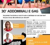 30 minuti ADDOMINALI & GAG
